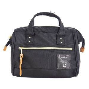 Anello 2-way Mini Boston Bag Black AT-H0851