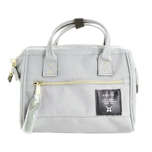 Anello 2-way Mini Boston Bag Light Gray AT-H0851