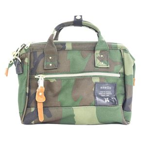 Anello 2-way Mini Boston Bag Camo AT-H0851