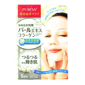 Utena PUReSA mask pearl extract 15ml x 5 sheets