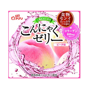 Yukiguni Aguri Konjac Jelly Peach