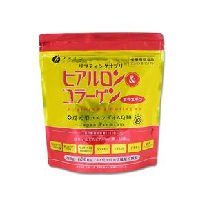 FINE JAPAN Hyaluron & Collagen Refill pack 210g