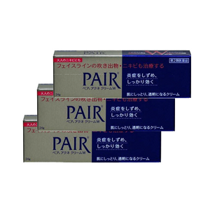 LION Pair Acne Cream 24g x 3 tubes