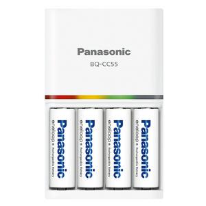 Panasonic eneloop Rechargable AA battery 4 pieces BQ-CC55