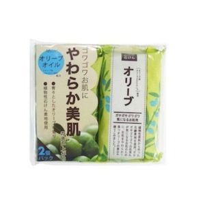 PELICAN SOAP Natural Olive Soap 100g  2 pieces