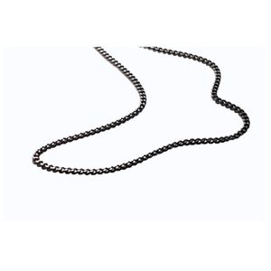 PHITEN Carbonized Titanium Chain Necklace 65cm