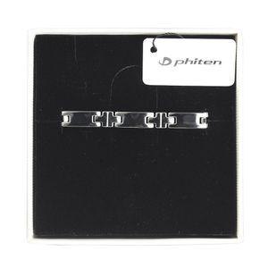 Phiten Titanium Bracelet Hard Coating Slim 18cm