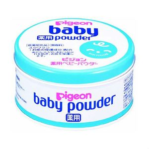 PIGEON Baby Powder Blue Can 150g