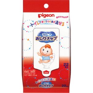 Pigeon Pigeon Oshiri Baby Wipes 22sheet
