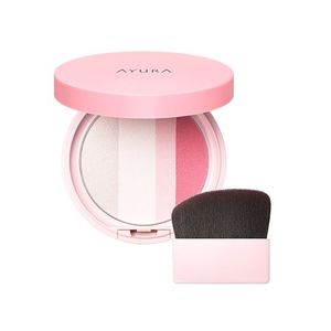 AYURA Bright Up Powder Sakura Floret 6.9g with brush and compact