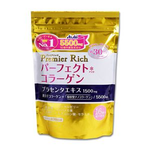 ASAHI Perfect Asta Premier Rich Collagen Powder (228g) [Collagen plus placenta, royal jelly, and more!]