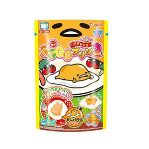 Heart Gudetama Handmade Pudding Candy Toys 6 packs