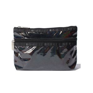 LeSportsac COSMETIC CLUTCH Champagne / Black Chroma Shimmer only available in Japan