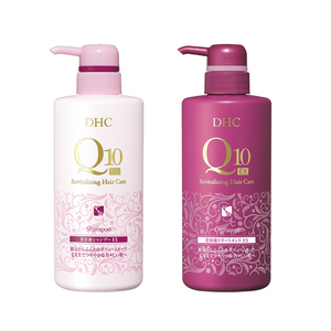 DHC Q10 Revitalising Shampoo EX 500ml/ Treatment EX 500ml