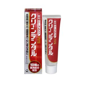 Sankyo Clean Dental Tooth Paste 100g 3 types