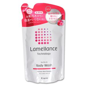 KRACIE Lamellance Technology Body Wash Precious Rose Bouquet Refill 360 mL