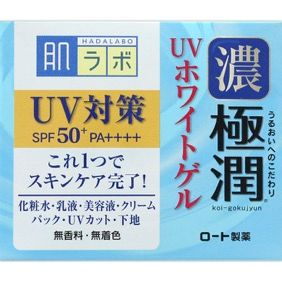 ROHTO Hada Labo Gokujun UV White Gel Sunscren 90g
