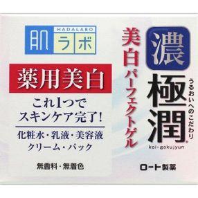 ROHTO Hada Labo Gokujun Extreme Moisture Whitening Perfect Gel 100g