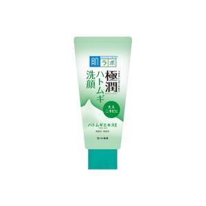 ROHTO Hadalabo Gokujun Hatomugi Facial Foam 100g