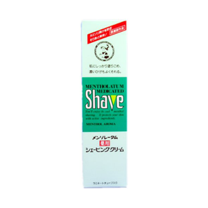 ROHTO Mentholatum medical Shaving cream 70g