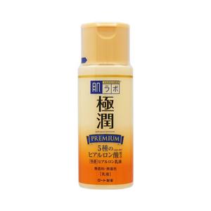 ROHTO Hadalabo Gokujun Premium Hyaluronic Milk 140mL