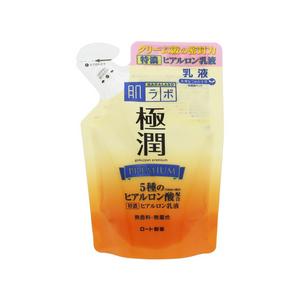 ROHTO Hadalabo Gokujun Premium Hyaluronic Milk Refill 140mL