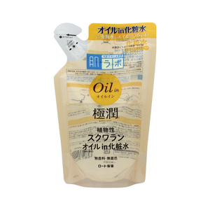 ROHTO Hadalabo Gokujun Oil In Lotion Refill 220ml