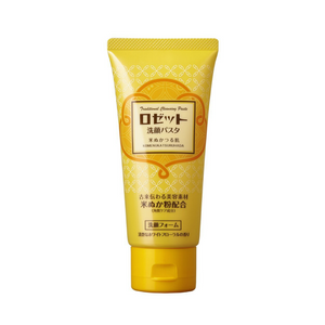 ROSETTE Face Wash Paste Rice Bran 130g