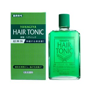 YANAGIYA Hair Tonic Salon-Grade 240ml [Herbal anti-aging scalp tonic for hair loss]