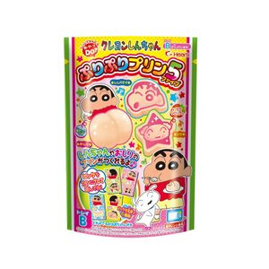 Heart Crayon Shinchan Handmade Pudding Candy Toys 6 packs