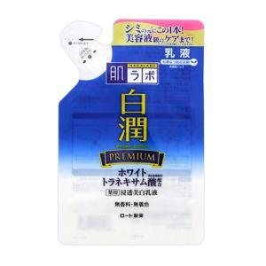 ROHTO Hadalabo Shirojun Premium Whitening Milk Refill 140ml