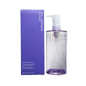 SHU UEMURA blanc chroma brightening and polish cleansing oil 450ml