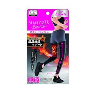 PIP SLIM WALK Beau Acty Shape up Leggings For Sports Black S-M