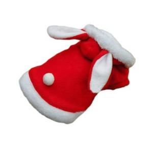 sniff dogwear -bunny ears santa-