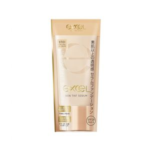 excel Skin Tint Serum SPF28 PA++ 35g 4 colors serum foundation