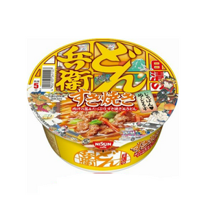 NISSHIN Donbei Udon -Sukiyaki-