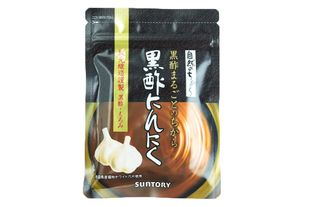 SUNTORY Black Vinegar + Garlic Supplements 60 capsules