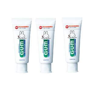 Sunstar GUM Toothpaste for kids 70g x 3set