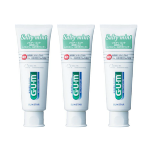 Sunstar GUM Toothpaste salty mint 150g x 3set