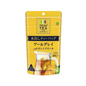 ITOEN TEAS' TEA NEW AUTHENTIC Watering Tea Bag Earl Gray with Orange Peel 15 bags x 3