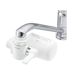 Panasonic Water Purifier Faucet Type White TK-CJ12-W