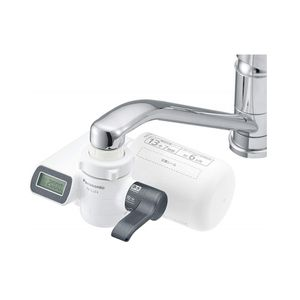 Panasonic Water Purifier Faucet Type Metallic Gray TK-CJ23-H