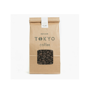 TOKYO COFFEE (beans) Olympic Blend Home Roasted and Organic 200g