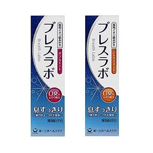 Daiichi Sankyo Medicated Ion Tooth Paste Breath Labo 90g 2 types