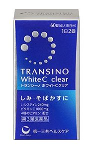 SANKYO Transino White C Clear Whitening Supplement 60 tablets