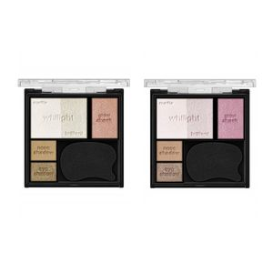 Kanebo KATE White Shaping Palette Eye Shadow/ Face Color/ Cheeks 2 colors