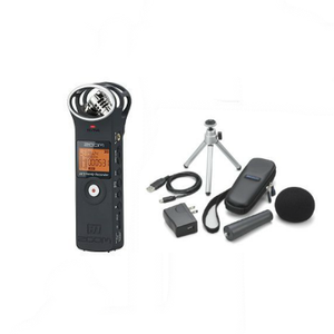ZOOM IC recorder H1 accessory pack set black