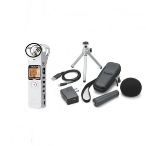 ZOOM IC recorder H1 accessory pack set white