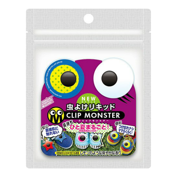 Clip monster Insect repellent clip dot eye