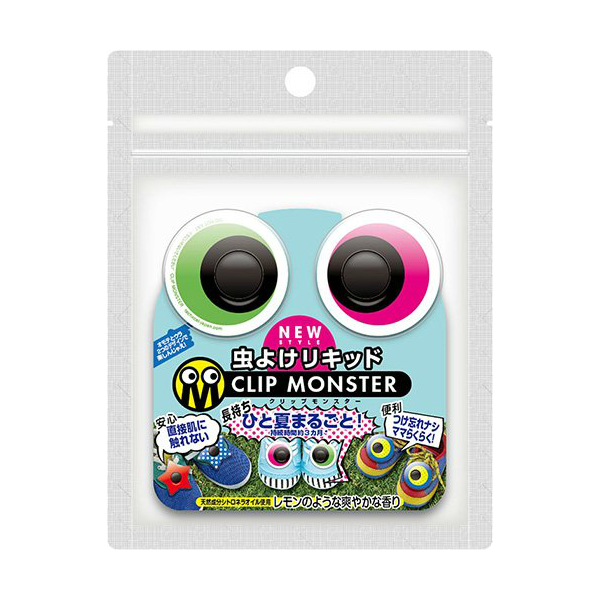 Clip monster Insect repellent clip vivid eye